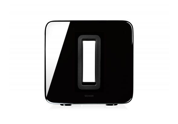 Sonos SUB Wireless Speakers, Black Gloss