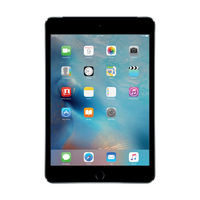 Apple iPad mini 4 128GB Wi-Fi Cellular, Space Gray