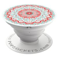 PopSockets Finger Grip, Aztec Mandala Red