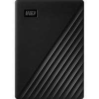 WD 1TB My Passport USB 3.2 Gen 1 External Hard Drive 2019, Black