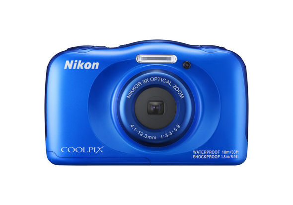 Nikon COOLPIX W100 Digital Camera, Blue