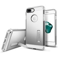 Spigen iPhone 8 Plus Case Tough Armor, Satin Silver