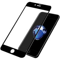 Panzerglass Tempered Glass Screen Protector Jet Black/Black for iPhone 8 Plus/7 Plus