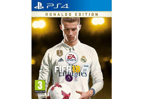 FIFA 18 - Ronaldo Edition For PS4