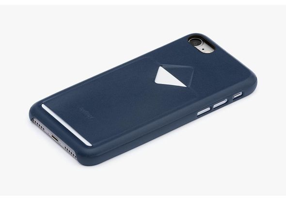 Bellroy Phone Case 1 Card for iPhone 7, Blue Steel
