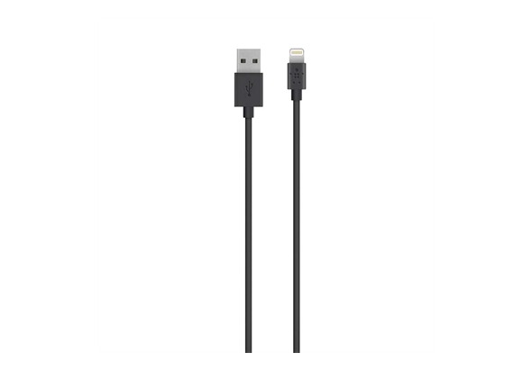Belkin MIXIT Lightning to USB ChargeSync Cable 2m, Black