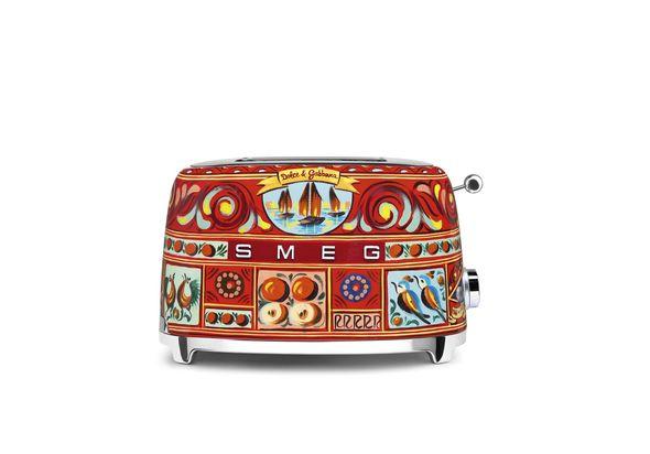 Smeg TSF01DGUK Dolce & Gabbana 2 Slice Toaster