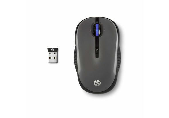 HP X3300 Wireless USB Mouse, Grey