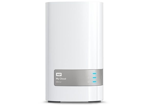 WD 4TB My Cloud Mirror Personal Network Attached Storage