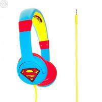 Superman Man of Steel Children's Headphones, Blue