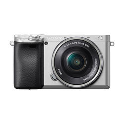 Sony Alpha a6400 Mirrorless Digital Camera with 16-50mm Lens,  Silver