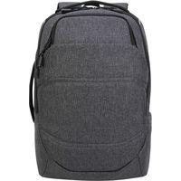 Targus TSB951GL Targus Groove X2 Max Modern Backpack for Large Business Travel, Grey