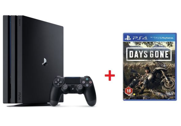 Sony PlayStation 4 Pro 1TB Console with Days Gone Bundle