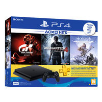 Sony PS4 500GB Console+ 3 Games+ 3 Months Live Subscription