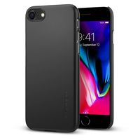 Spigen iPhone 8 Case Thin Fit, Black