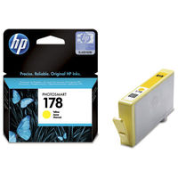 HP 178 Yellow Original Ink Cartridge