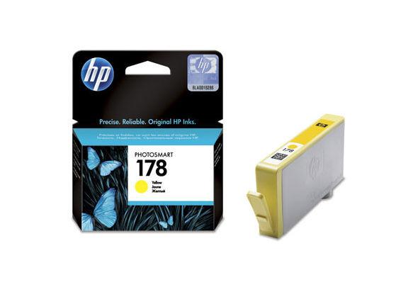 HP 178 Yellow Original Ink Cartridge