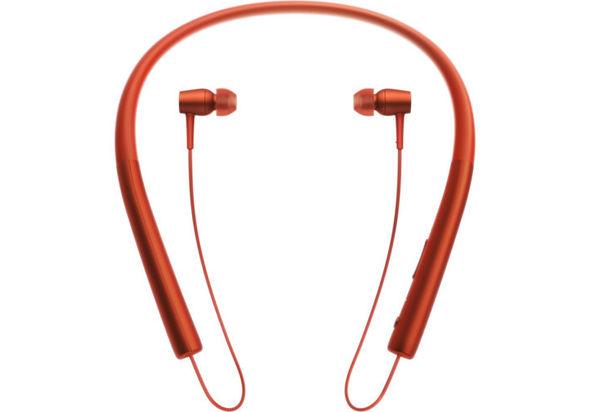 Sony In Wireless Bluetooth In-Ear Headphones, Cinnabar Red