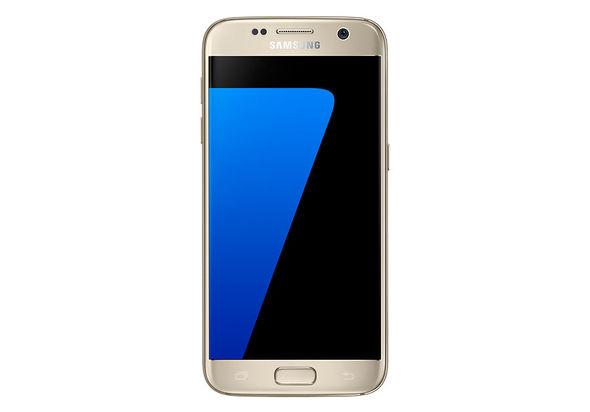 Samsung Galaxy S7 Smartphone, Dual Sim, 32 GB, Gold Platinum
