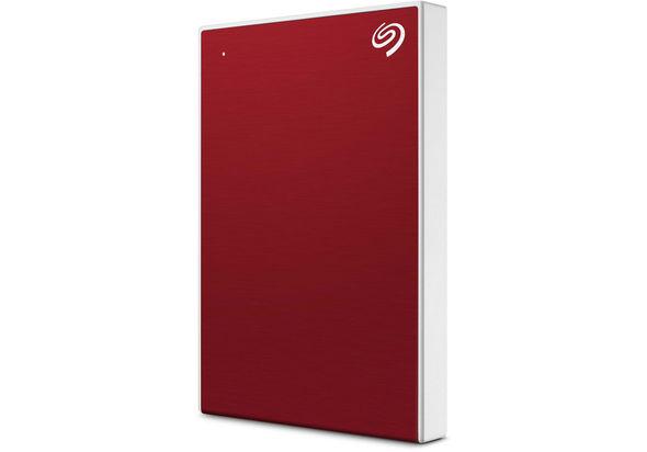 Seagate 2TB Backup Plus Slim USB 3.0 External Hard Drive, Red