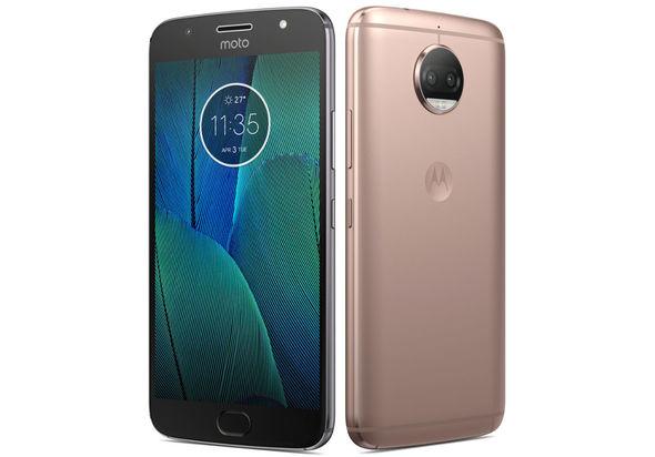 Motorola Moto G5s Plus Dual SIM Smartphone, Blush Gold