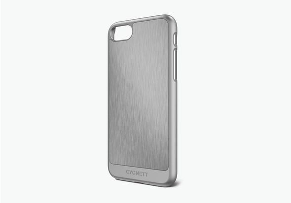 Cygnett UrbanShield Case for iPhone 7, Silver Aluminium