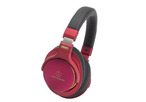 Audio Technica ATH Portable Headphone ATH Msr7 LTD, Red