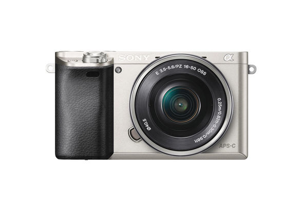 Sony Alpha a6000 Mirrorless Digital Camera with 16-50mm and 55-210mm Lense,  Silver