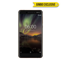 Nokia 6.1 Smartphone LTE, Black Copper