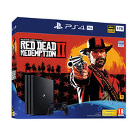 Sony PlayStation 4 1TB Pro Red Dead Redemption 2 Bundle
