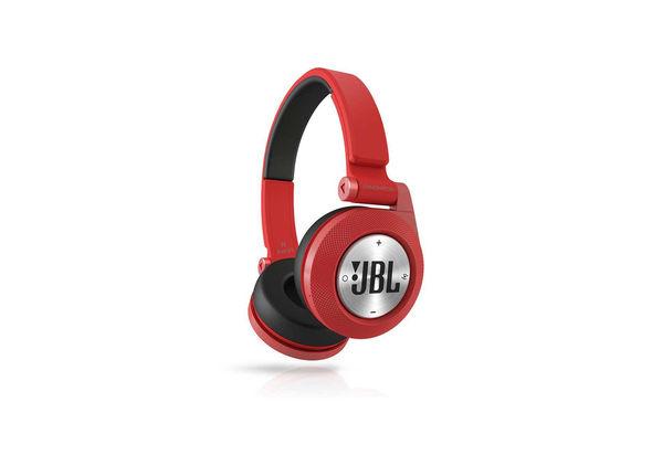 JBL Synchros E40BT Bluetooth On-ear Headphones, Red