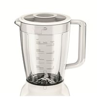 Philips Jug Blender 400 Watts - HR2114, White