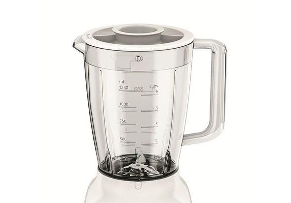 Philips HR2114 Daily Collection Blender 400W 1.5L, White/Beige
