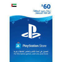 Sony Wallet top up 60 USD