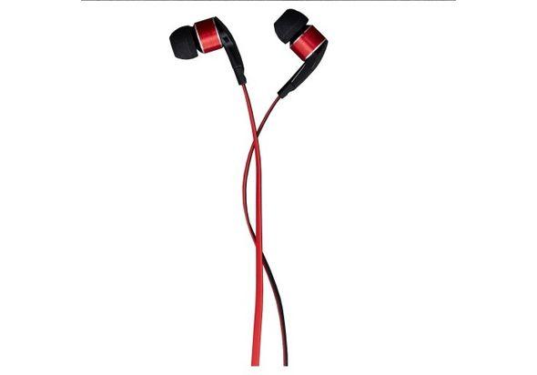 Anymode Ear Pop Earphone, Metal Red