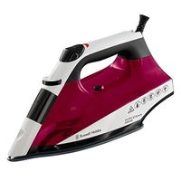 Russell Hobbs 22520 Auto Steam Iron Non Stick, Red
