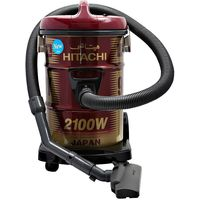 Hitachi 2100 Watts Can Type Y Series Vacuum Cleaner, Red CV960Y24CBSWR
