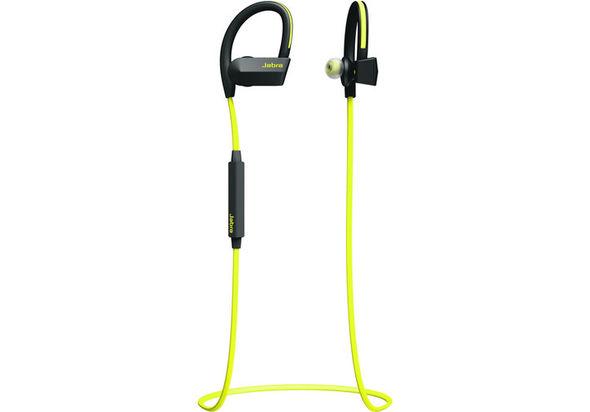 Jabra Sport Pace Wireless Earbuds, Yellow