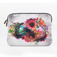 "Iorigin Macbook Pro Retina 15"" Sleeve Flowery Skull"