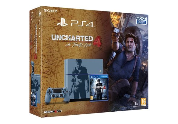 Sony - PlayStation 4 Console Limited Edition Uncharted 4 Bundle