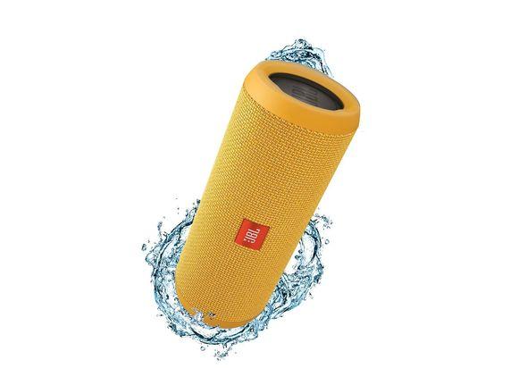 JBL Flip 3 portable speaker, Yellow