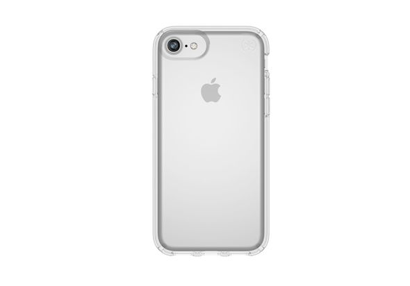 Speck Presidio Clear iPhone 8 Case, Clear/Clear