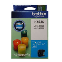 Brother LC673C Ink Cartridge, Cyan
