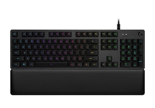 Logitech G513 Carbon RGB Mechanical Gaming Keyboard USB Tactile Switch