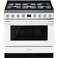 Smeg CPF9GMWH Combination Cooker 90 cm