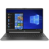 HP 15S-FQ1001NE 15.6 inches LED Laptop Intel Core i3-1005G1 3.4 GHz, 4 GB RAM, 256 GB SSD, Intel UHD Graphics, Windows 10 Home, Silver
