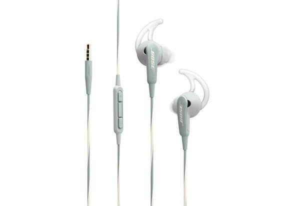 Bose SoundSport In-Ear Headphones-Apple Devices, Frost