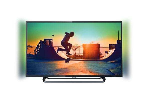 تلفزيون ذكي فيليبس رفيع جدا بقياس 65 بوصة وبدقة 4K