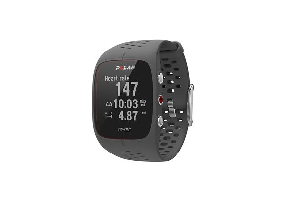 Polar M430 GPS Running watch with wrist-based heart rate, Grey