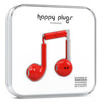 Happy Plugs Earbud plus, Red